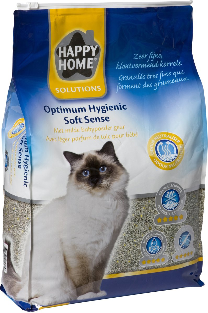 Happy Home Solutions Optimum Hygienic Soft Sence - Kattenbakvulling - 12.5 l kopen