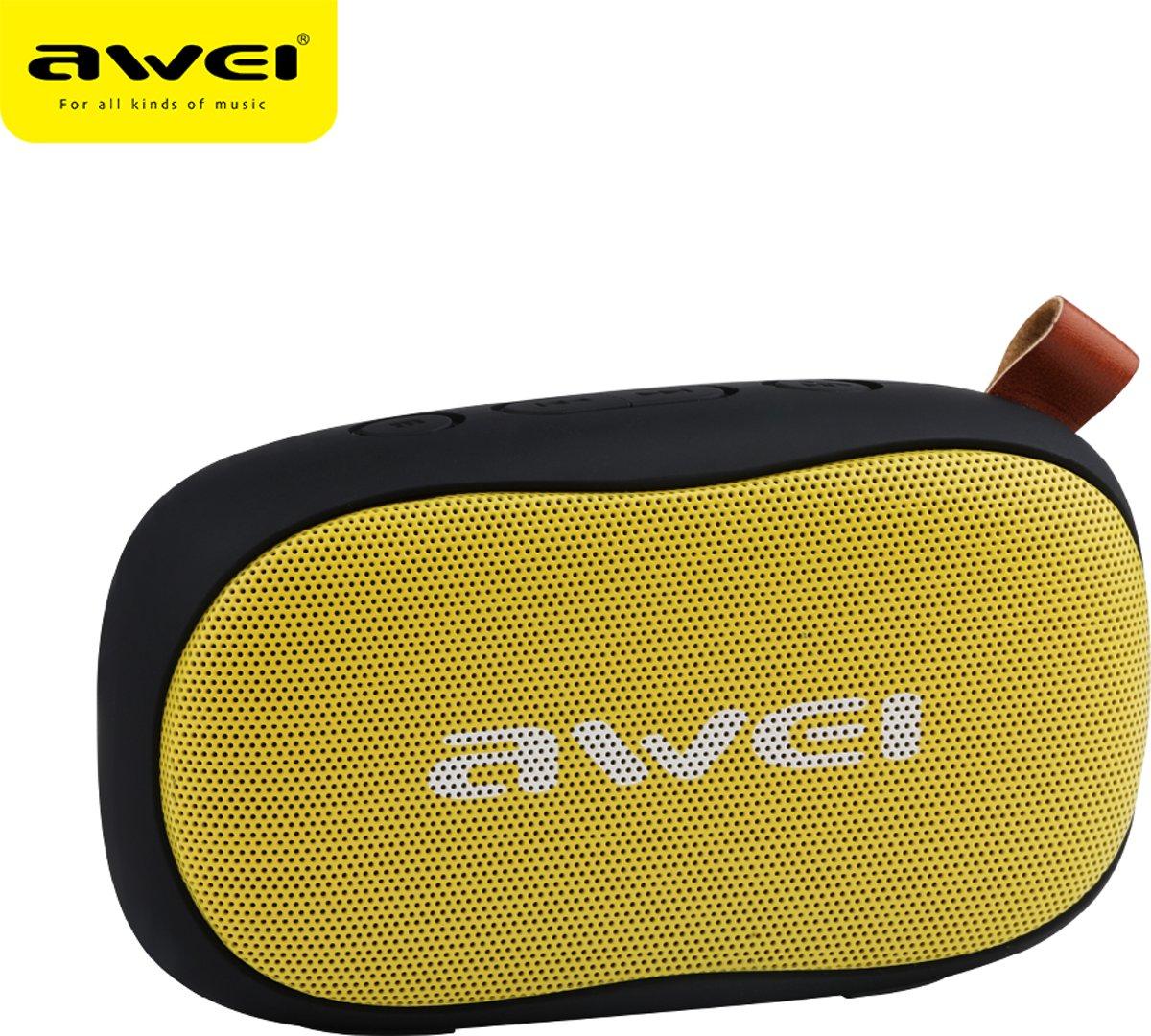 AWEI Y900 Mini Portable Wireless Speaker Black Yellow