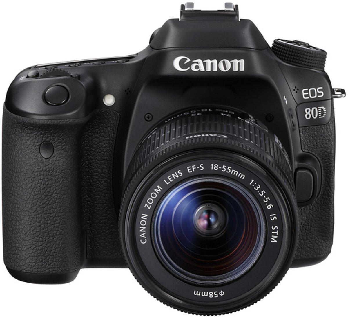 Canon EOS 80D Body + 18-135mm - Zwart