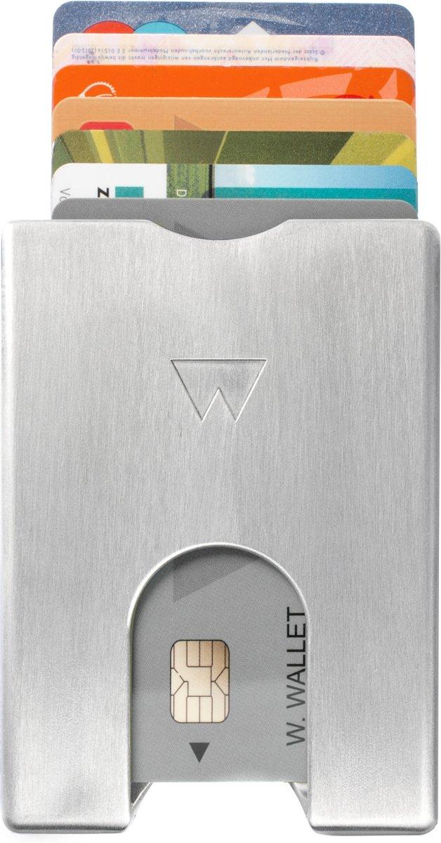 Walter Wallet Aluminium Creditcardhouder - Aluminium RAW voor €25