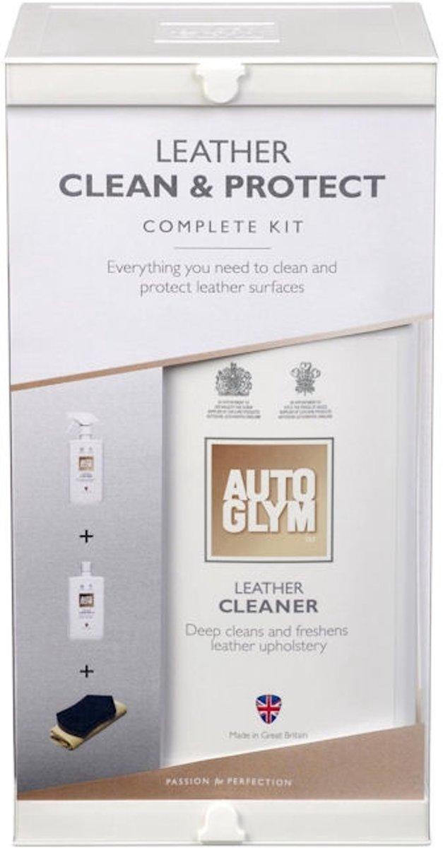 Autoglym Leather Clean en Protect Clean Complete Kit kopen