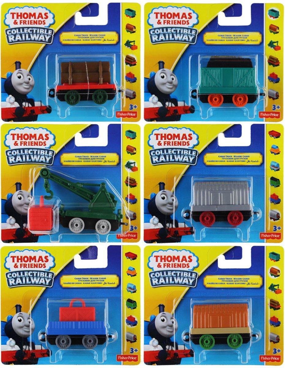 Thomas de trein Collectable Railway wagonnen set 6 stuks