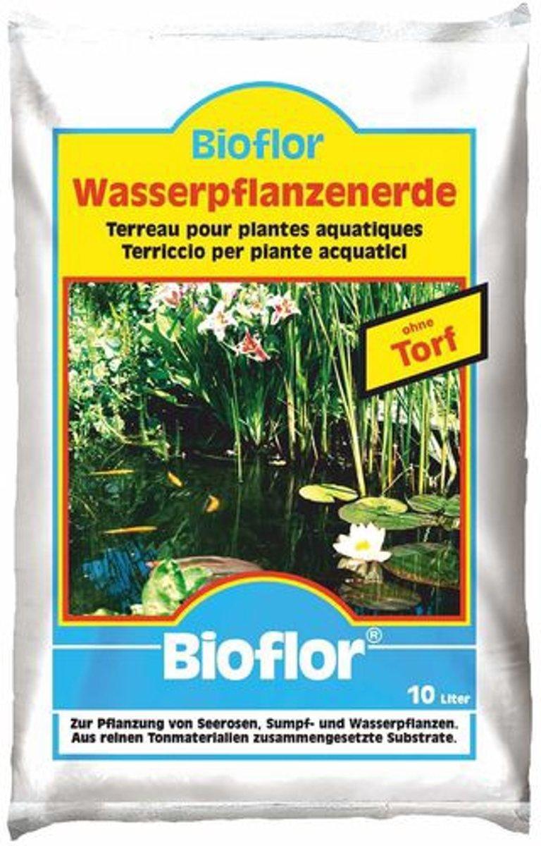 Bioflor - 10 Ltr. Waterplantenaarde | Vijverpotgrond | Geschikt voor alle waterlelies, moeras- en waterplanten.