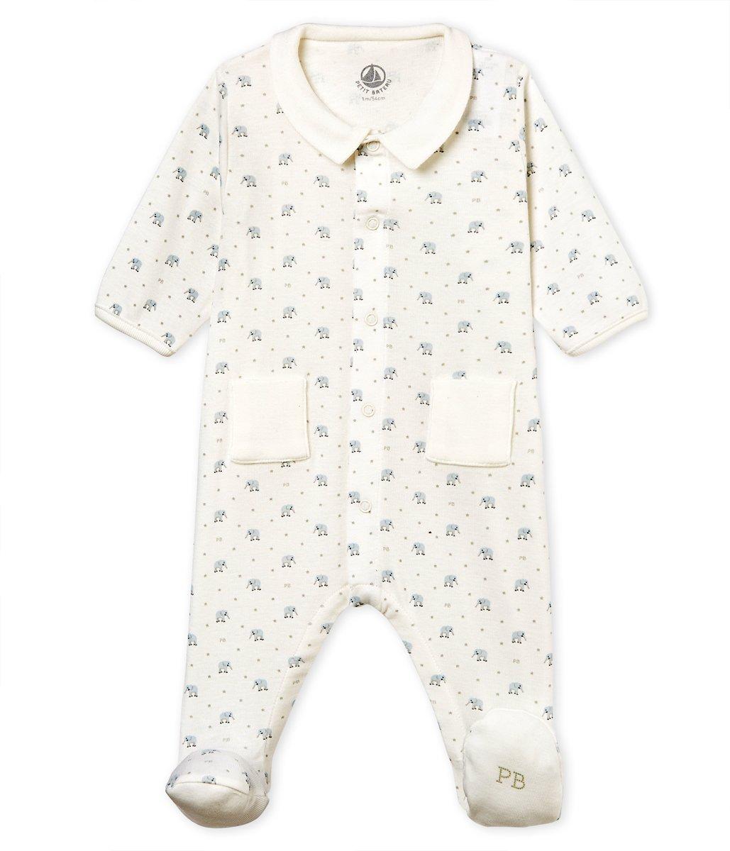 Petit Bateau Jongens Baby Boxpak - blauw - Maat 68 kopen