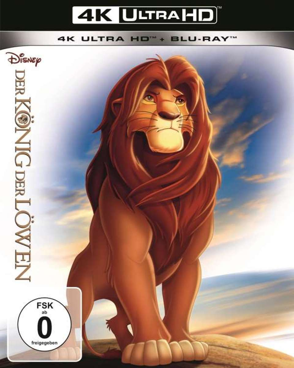 Lion King (1994) (Ultra HD Blu-ray & Blu-ray)-
