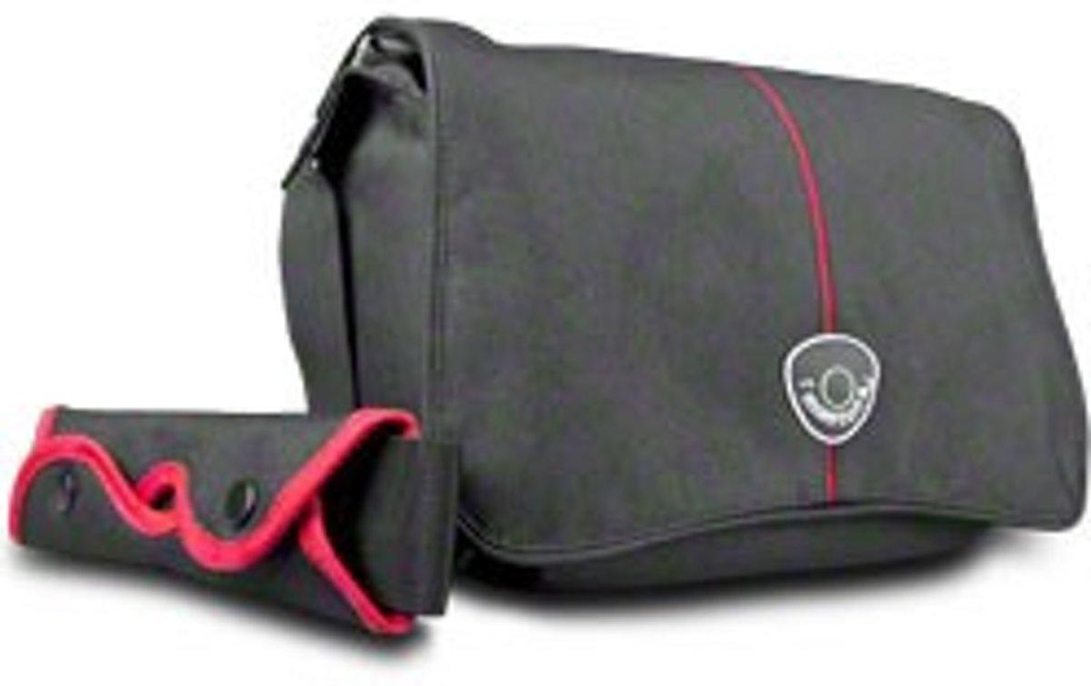 Mantona Cool Bag Camera Tas, zwart/rood kopen