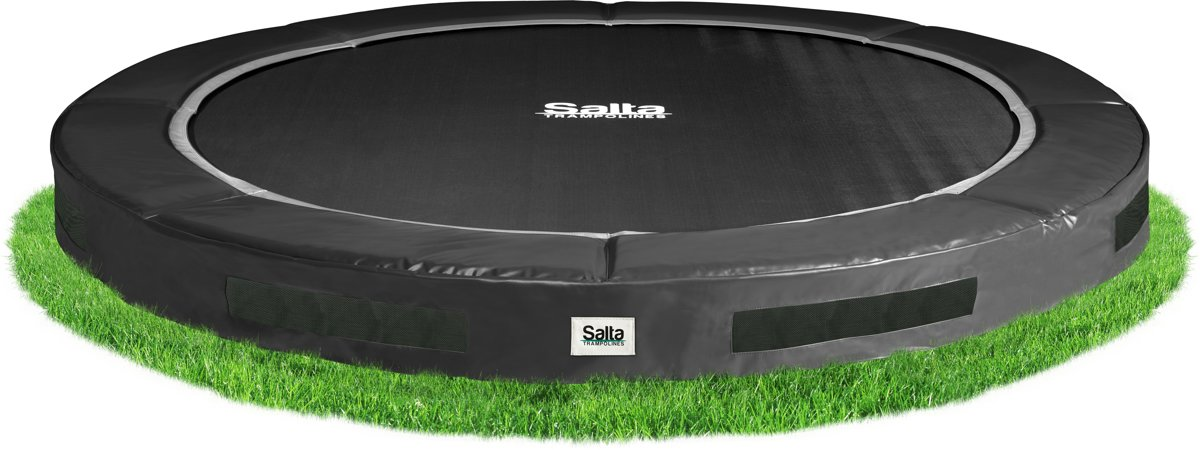 Salta Excellent Ground 244 cm Zwart - Trampoline