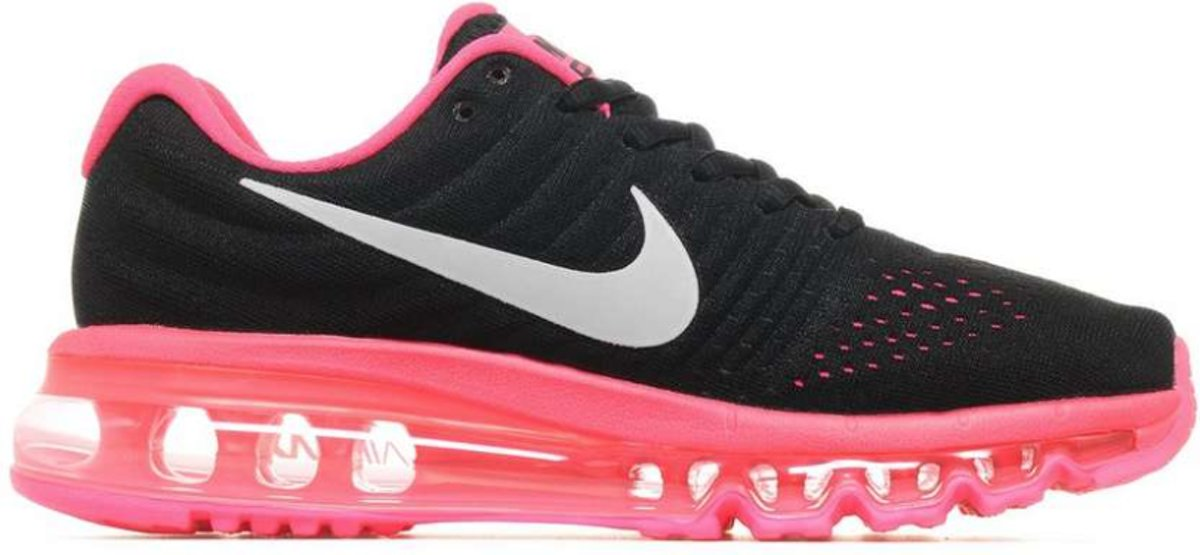 huge selection of 88011 17da8 bol.com | Nike Air Max 2017 Sneakers Kinderen - zwart/roze