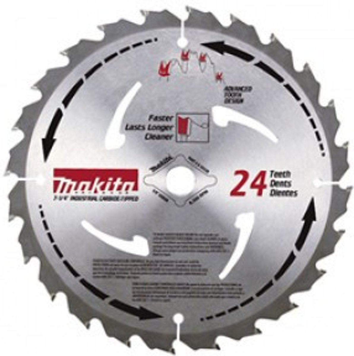 Makita B-07973 HM zaagblad Mforce 210 x 30/25 x 16T