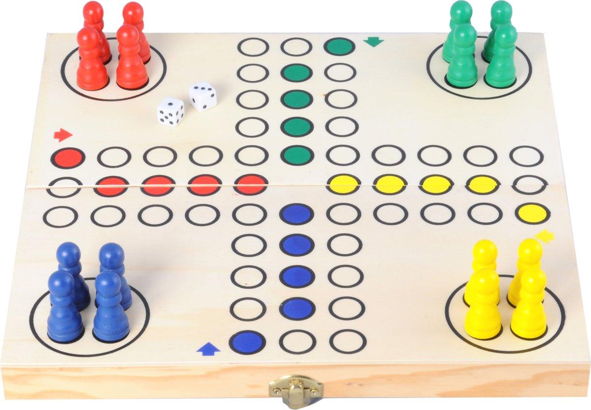 Longfield Games Ludo Opklapbaar