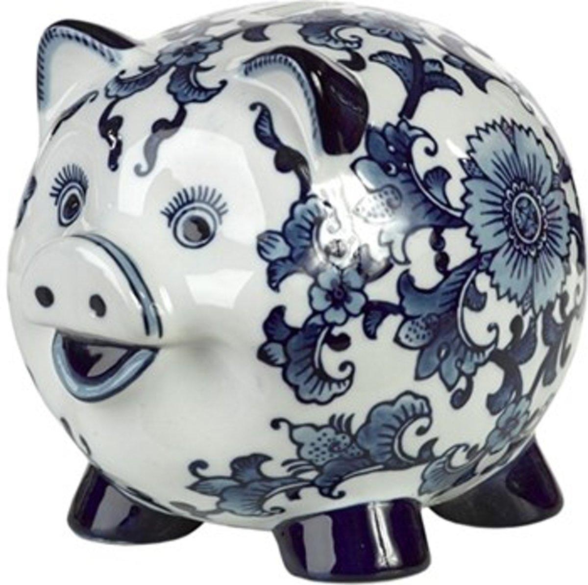 Pols Potten Piggy Bank - Spaarpot - Wit
