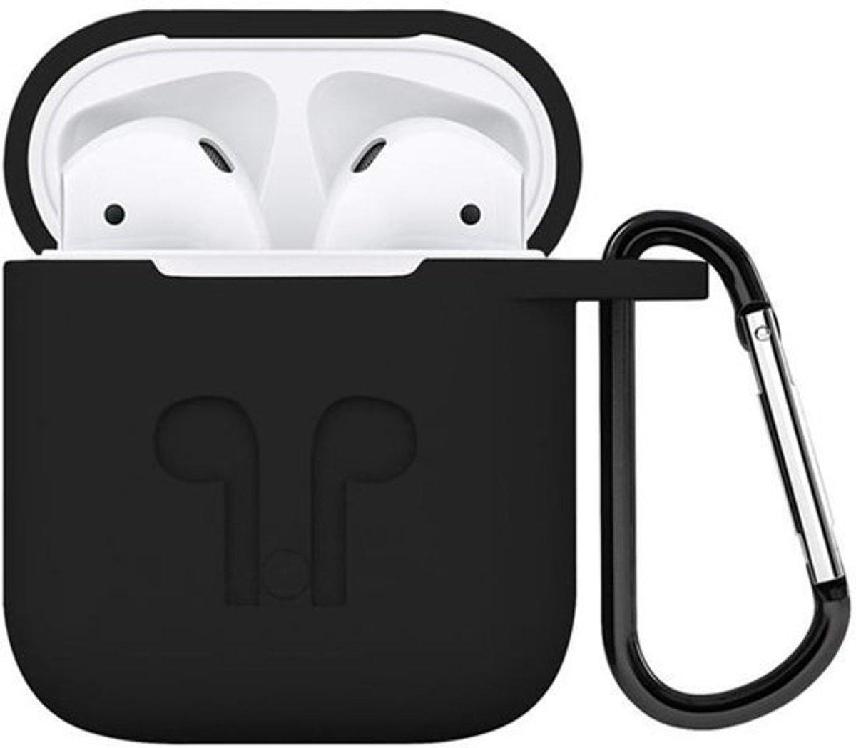 Airpods hoesje – Zwart/ Apple Airpods / Airpods case kopen