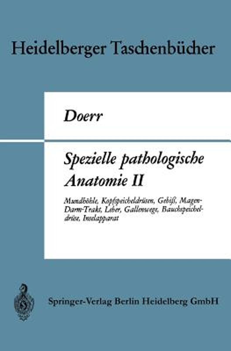 bol.com | Spezielle Pathologische Anatomie II | 9783662377437 ...