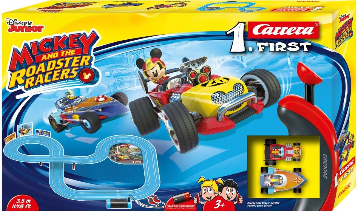 Carrera First Mickey Roadstar Racers 3,5 m - Racebaan