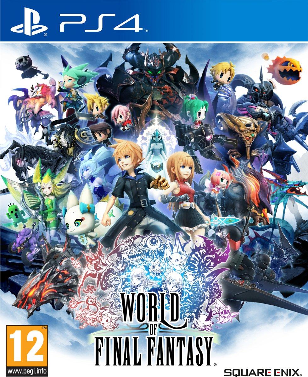 World of Final Fantasy PlayStation 4
