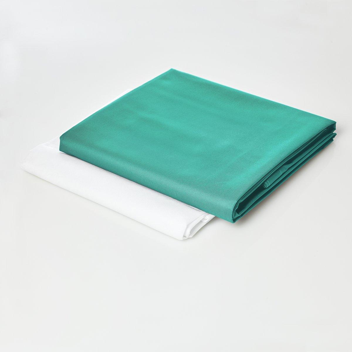 Lumaland - Hoes van luxe XXL zitzak - enkel de hoes zonder vulling - Volume 380 liter - 140 x 180 cm - gemaakt van PVC / Polyester - Turquoise kopen