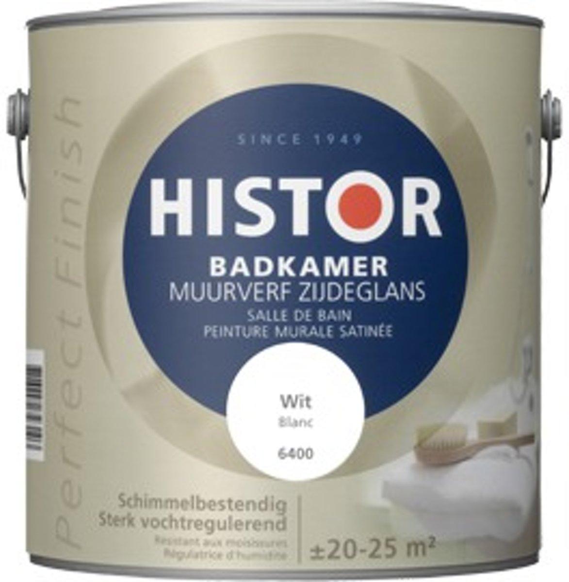 bol.com | Histor Perfect Finish Badkamer Muurverf Zijdeglans 2,5 ...