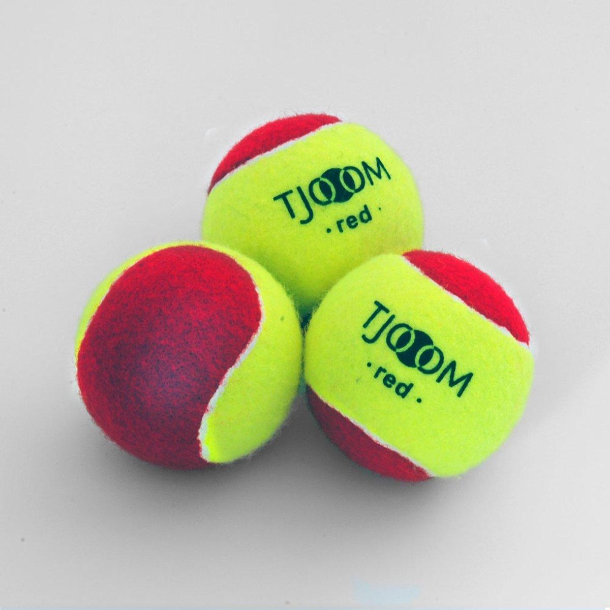 Tjoom red, stage 3 - Kidstennis - 60 ballen kopen