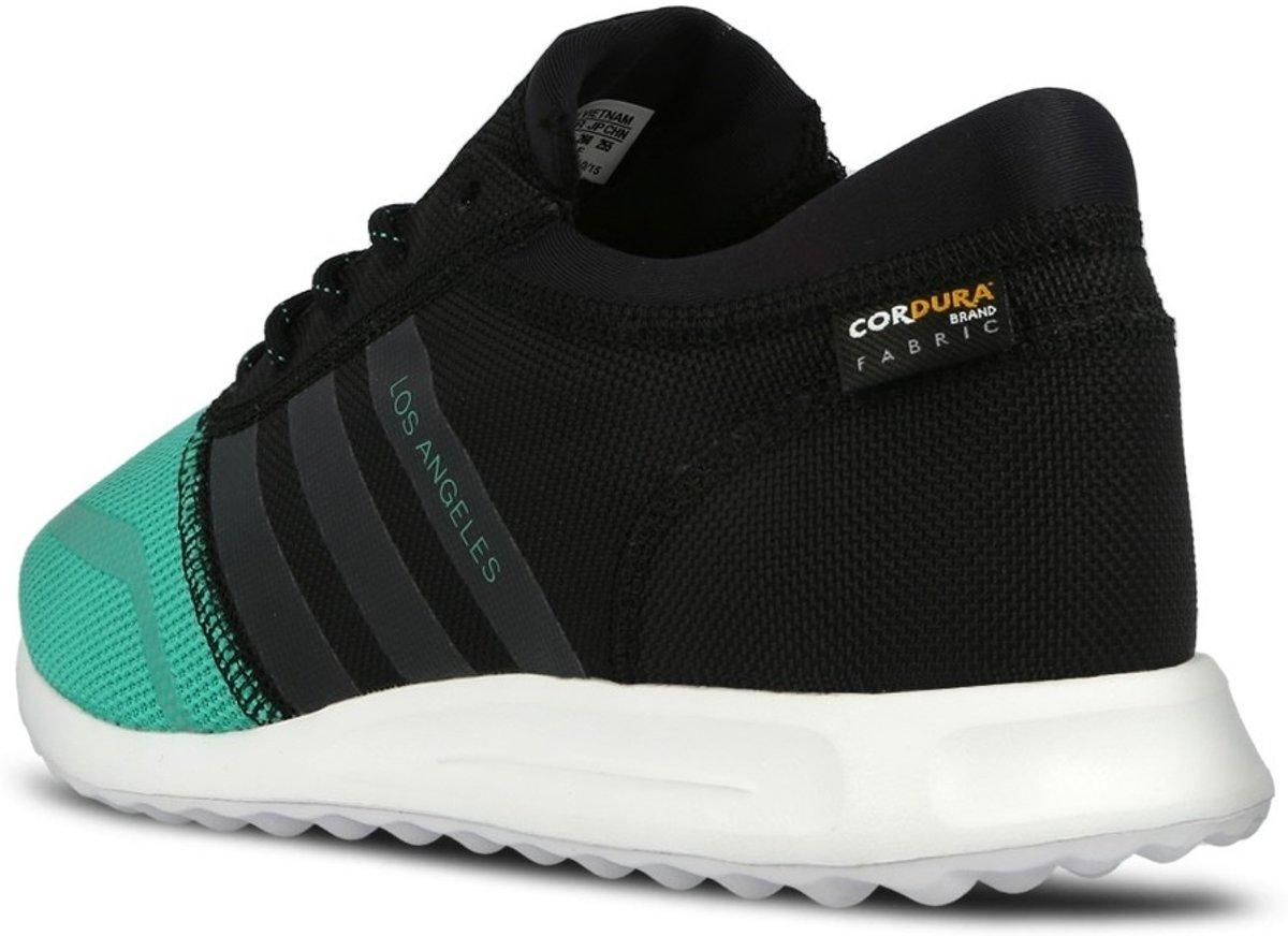 b6a0e777684 bol.com | Adidas Los Angeles Heren Sneakers Zwart/groen Maat 40