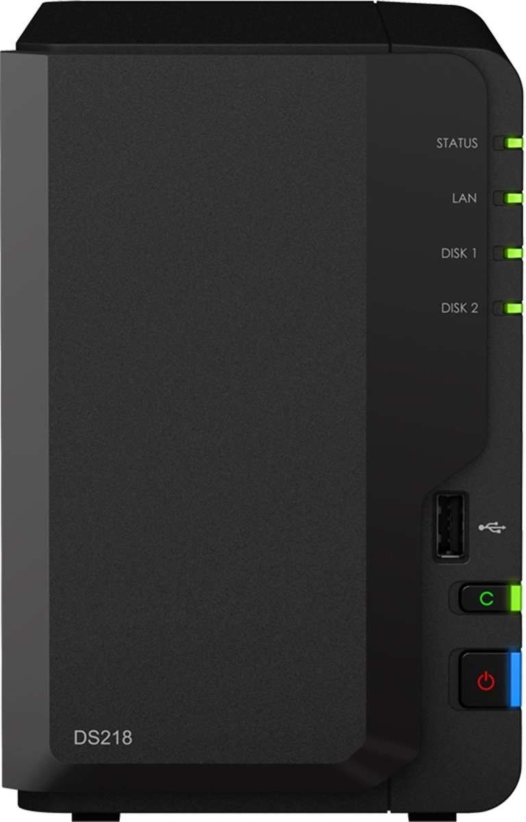 Synology DiskStation DS218 - NAS - 0TB