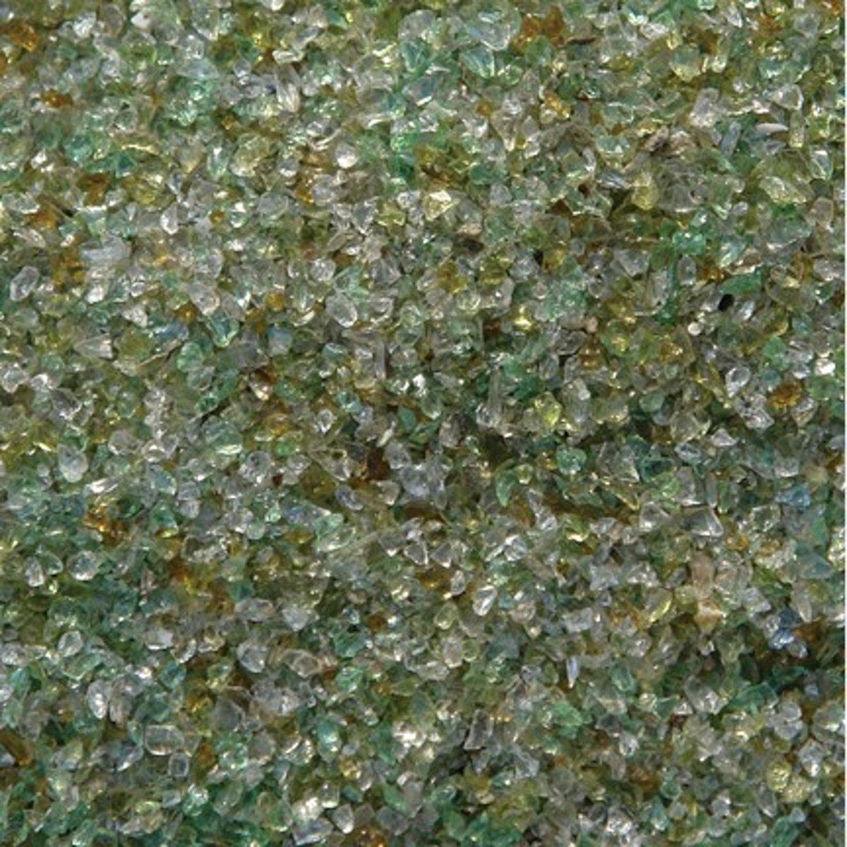Eco Glass filter media I 0,5-1mm 25 kg filtermedia voor zandfilter