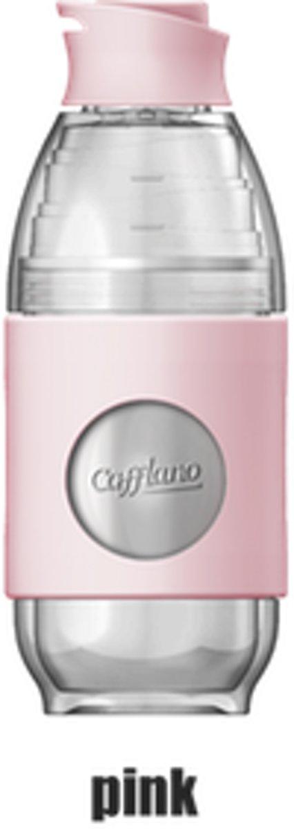 Cafflano Go Brew Roze - Meeneem Koffiezet/beker kopen