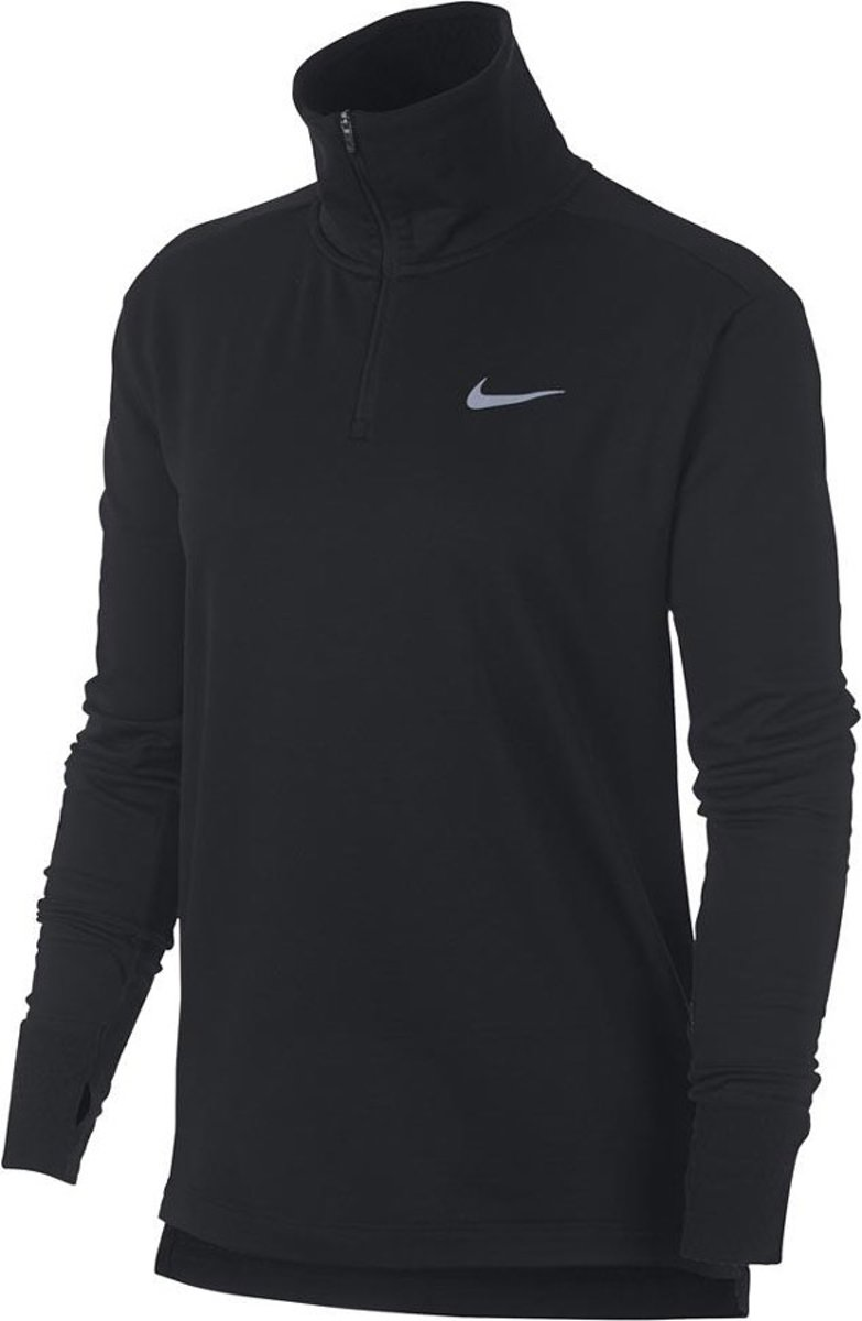 Nike Thermo Top Rit WMNS - Shirts  - zwart - M kopen