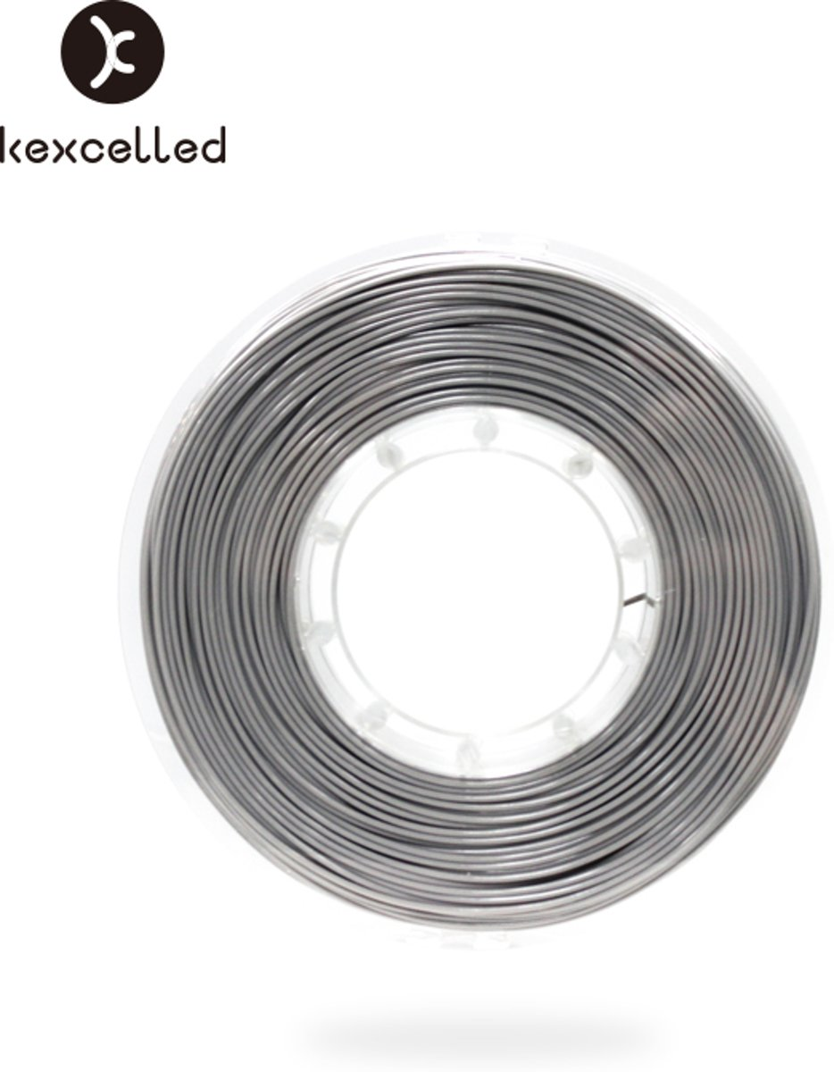 kexcelled-PLAsilk-1.75mm-zilver/silver-500g(0.5kg)-3d printing filament
