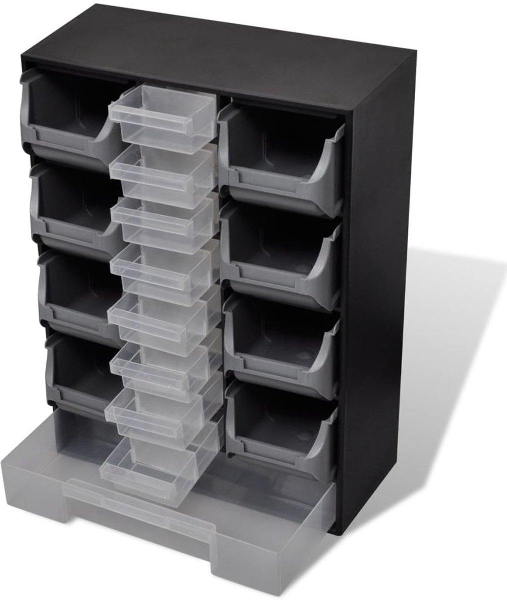 Metalen Ladenkast Voor Gereedschap.Bol Com Vidaxl Ladenkast Voor Gereedschap 17 Lades