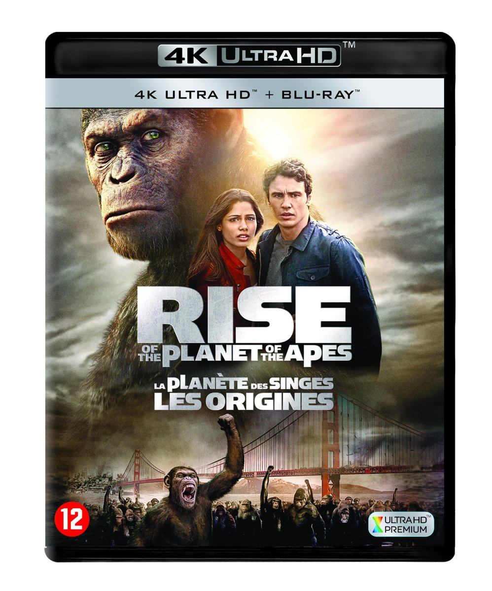 Rise Of The Planet Of The Apes (4K Ultra HD Blu-ray)-