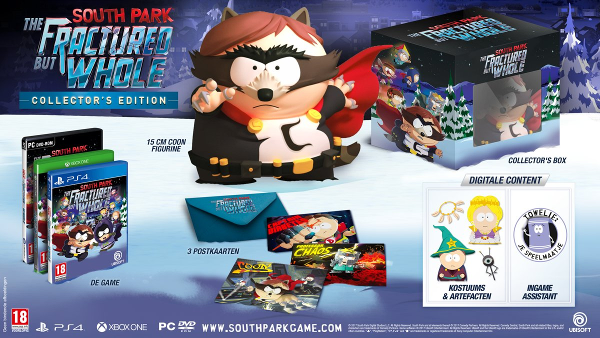 South Park: The Fractured But Whole - Collector's Edition PlayStation 4