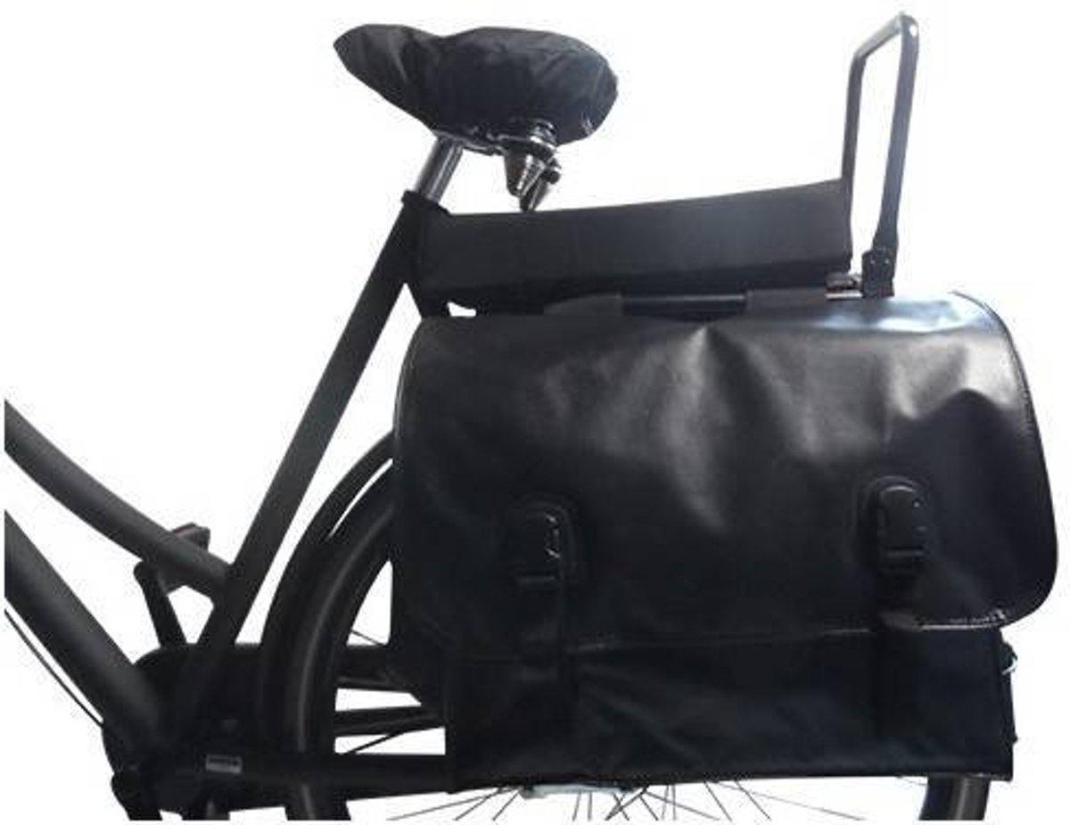 Kussen Fiets Achterop : Bol hooodie big cushie black solid zacht fietskussen voor