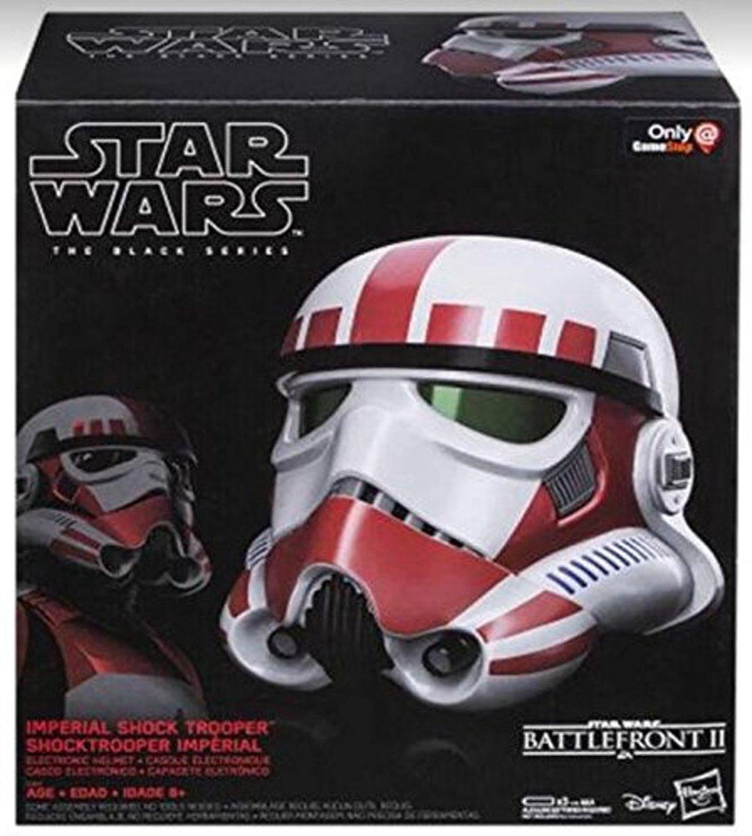 Hasbro Star Wars Black Series Shock Trooper 1/1 Scale Electronic Helmet Exclusive ( Leverbaar vanaf eind Juni !!! )