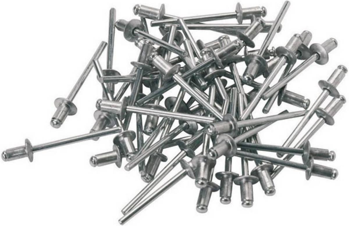 Blindklinknagel 5x10 alu/staal 100 stuks / popnagels kopen