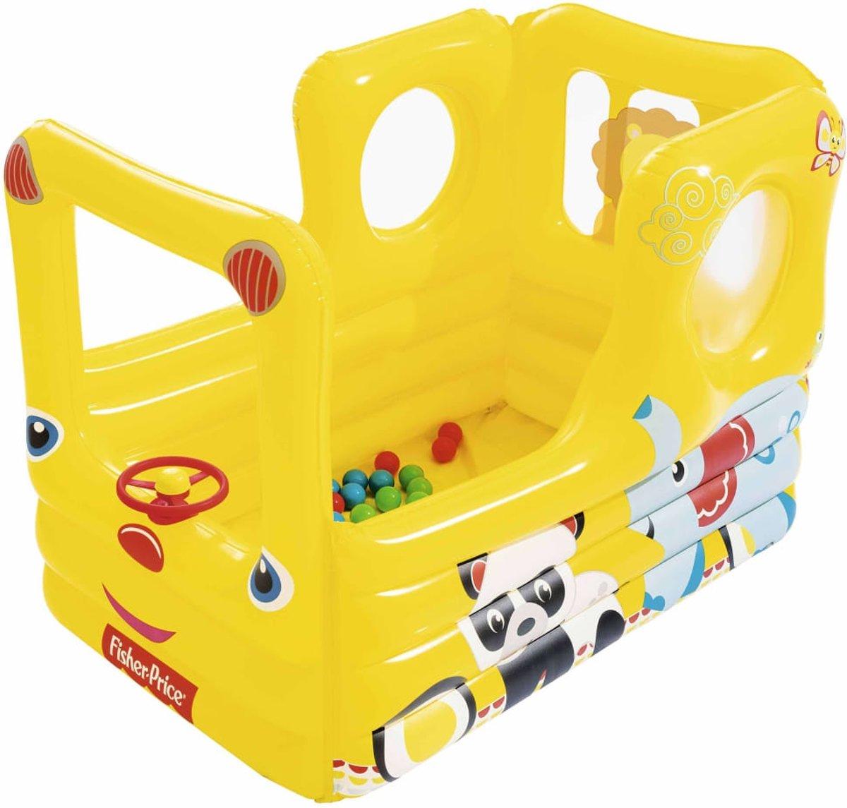 Bestway Schoolbus speelcentrum Fisher Price Lil' Learner