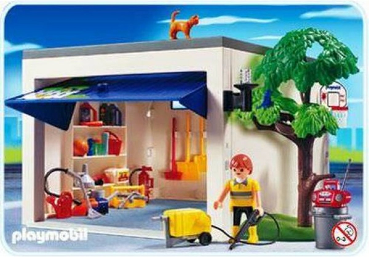 Playmobil Garage