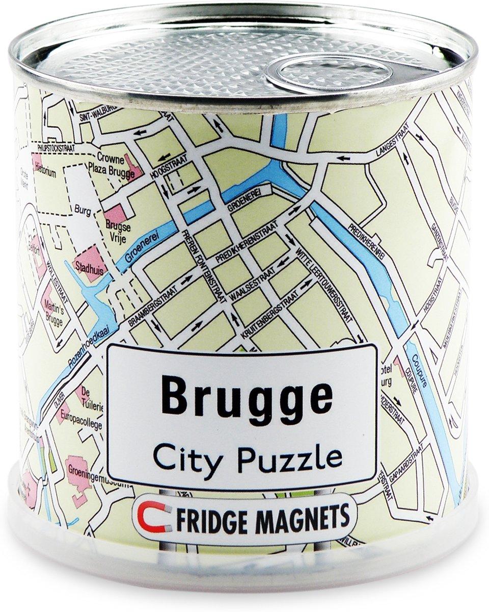 City Puzzle Brugge - Puzzel - Magnetisch - 100 puzzelstukjes