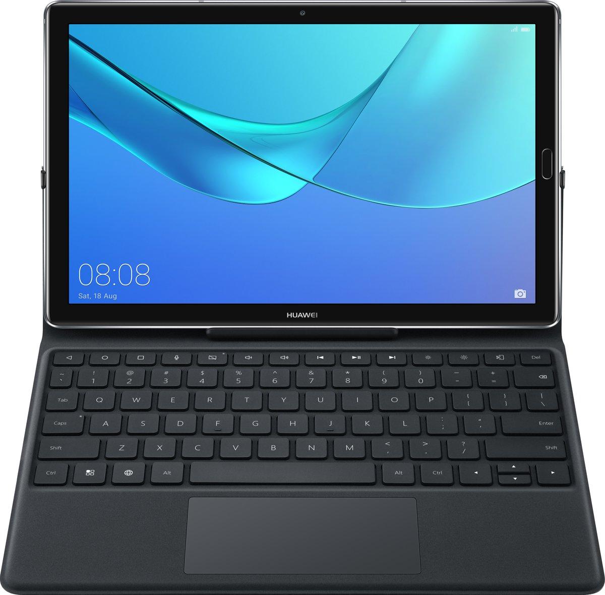 Huawei M5(pro) 10 inch Keyboard - leren case(Qwerty) kopen