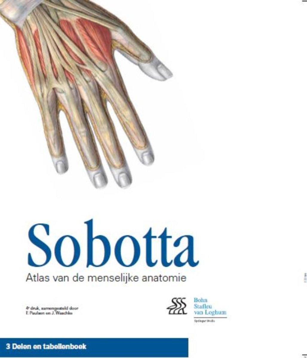bol.com | Sobotta / cassette 3 delen en tabellenboek | 9789031390427 ...