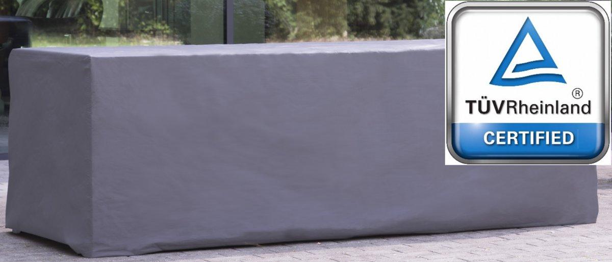 ATLANTIS | Weersbestendige Beschermhoes Tuintafel / Tuinset | 245 x 105 x 75 cm | Premium | Waterproof | TÜV Rheinland Gecertificeerd | Hoes voor Tuin