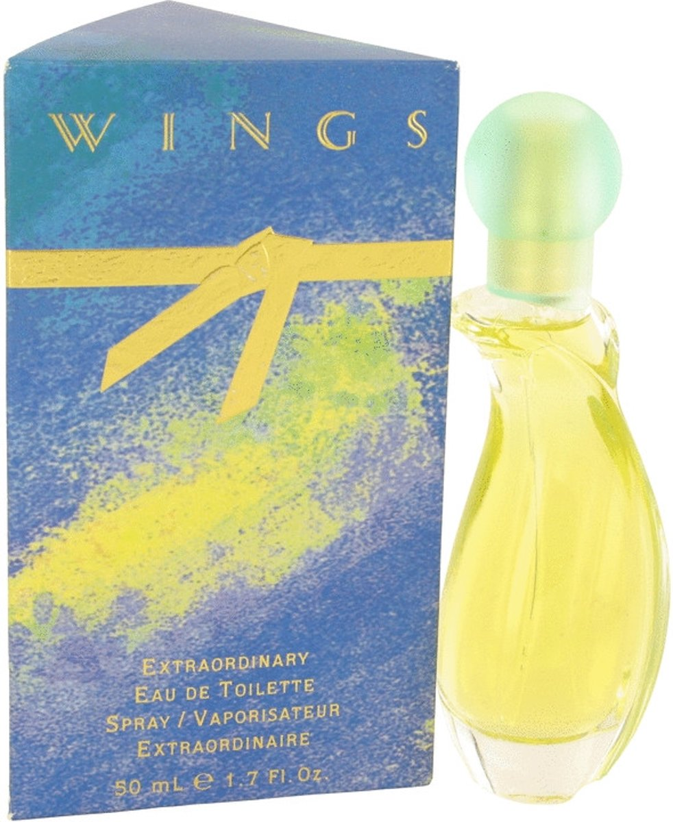 Giorgio Beverly Hills Wings 50 ml Eau De Toilette Spray Damesparfum
