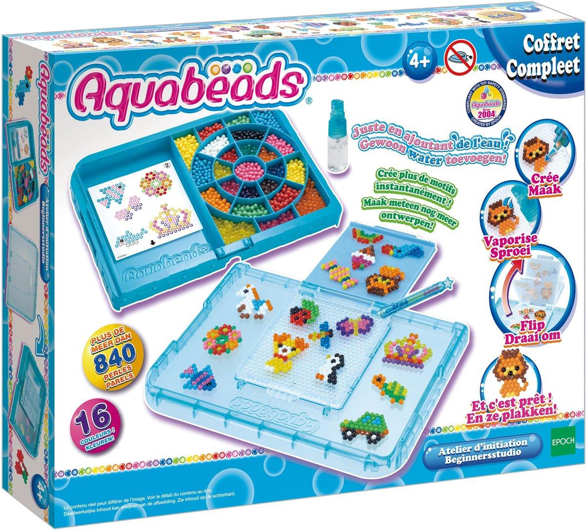 NIEUW:  Aquabeads Beginnersstudio 31386- Hobbypakket kopen