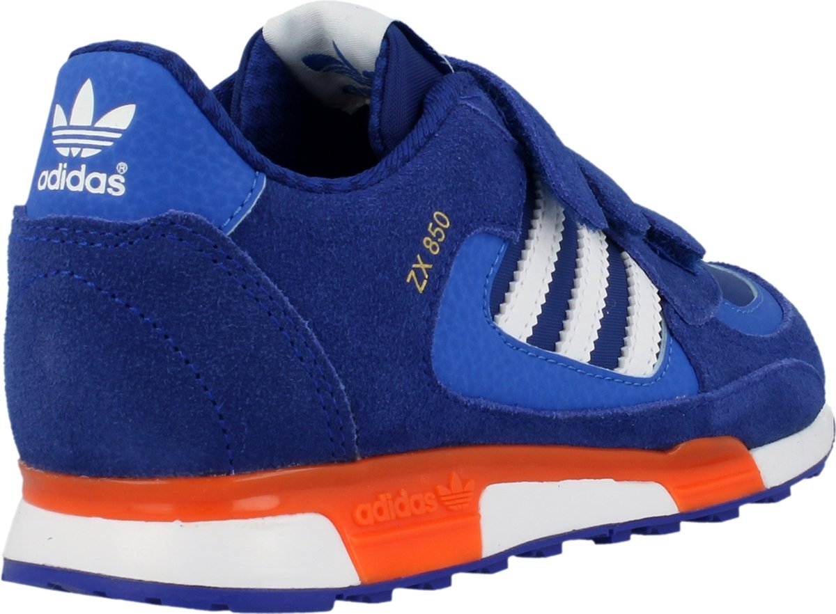 new arrival 54b91 9c5bb bol.com   adidas Originals ZX 850 CF K M19740 - Sneakers - Kinderen - Maat  28 - Blauw Wit
