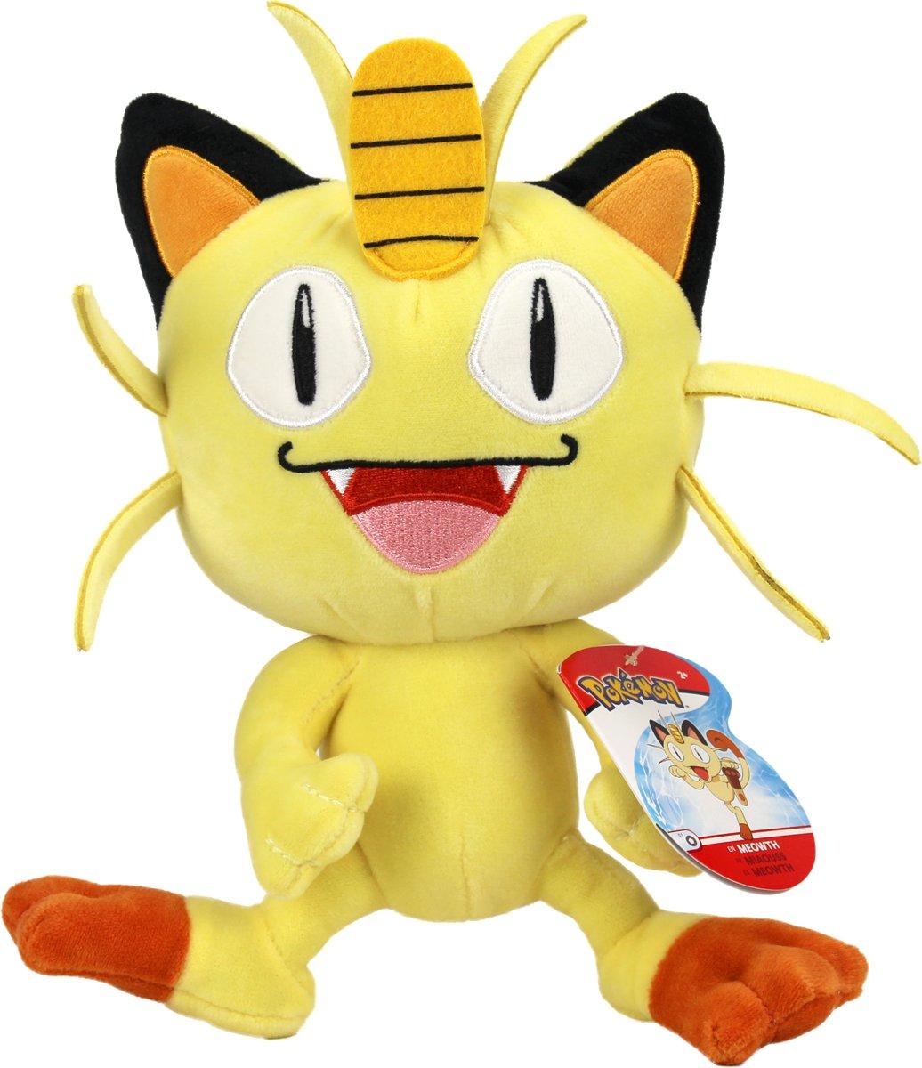 Pokémon – Pluche – Meowth 20 cm kopen