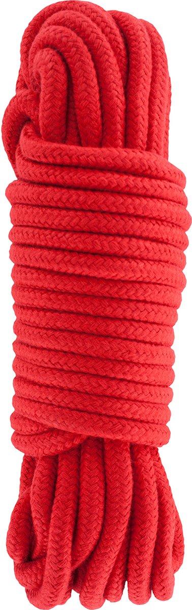 Foto van Hidden Desire Bondage Rope 10m (rood)