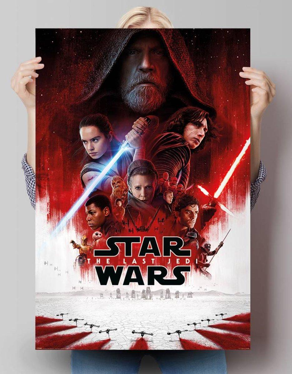 Star Wars Last Jedi filmposter 61 x 91.5 cm kopen