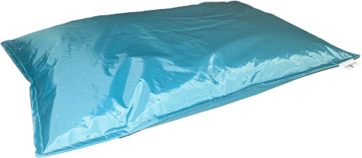Drop & sit zitzak - Turquoise - 130 x 150 cm - binnen en buiten kopen