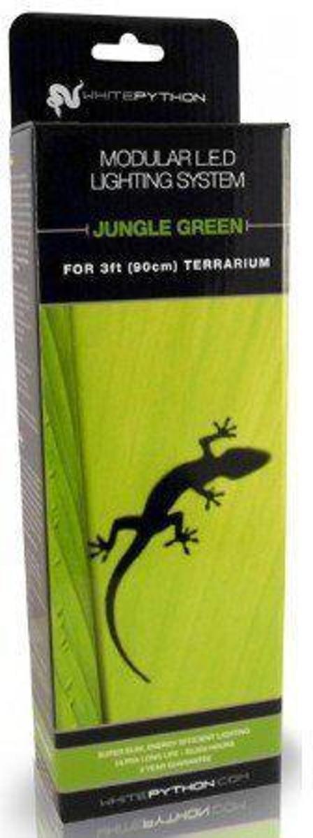 White Python LED Jungle - Green - 90 cm - Kit