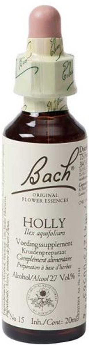 Foto van Bach Holly / Hulst - 20ml - Voedingssupplement