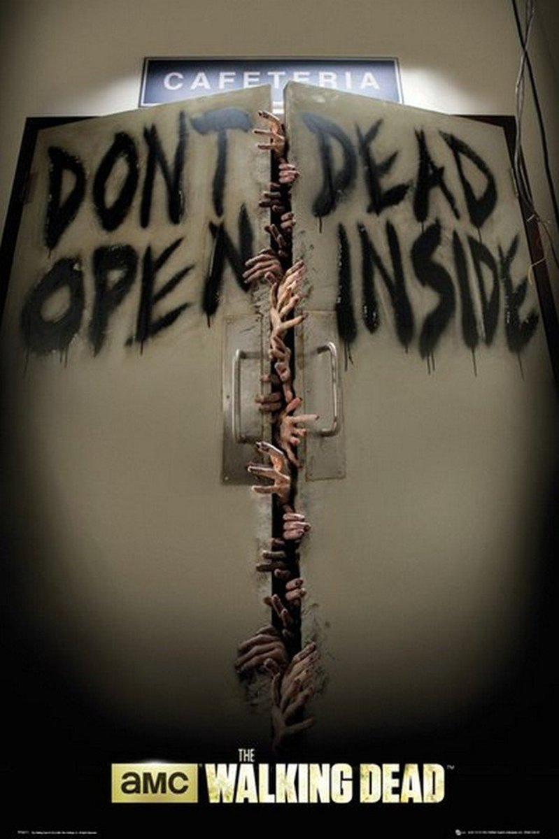 POSTER 47 THE WALKING DEAD - KEEP OUT / FP3311 kopen
